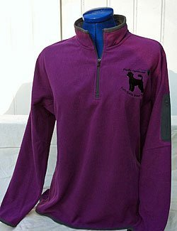 Ladies 1/4 Zip Micro Fleece Pullover