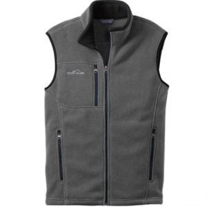 Eddie Bauer Full Zip Fleece Vest