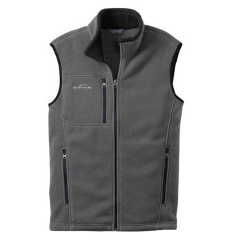 Eddie Bauer Full Zip Fleece Vest