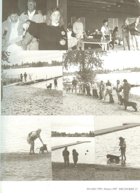 Club First Water Trial in 1991